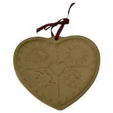 Seasons Of The Heart 1997 Pampered Chef Cookie Mold