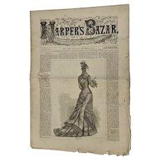 Harper's Bazaar Bazar Newspaper Dec 2, 1876
