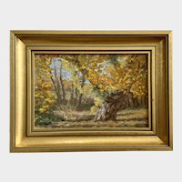 Geoffrey Lasko, Fall Landscape Oil Painting By Colorado Listed Artist