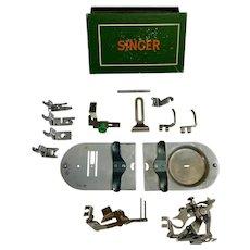 Vintage Singer Sewing Machine Attachments Model 306  #160977