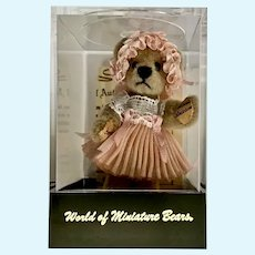 World of Miniature Bears By Tina Richardson Dollhouse Dolls Bonnie #948