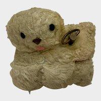 Vintage Wind Up Toy Lamb Switzerland Music Box Rock-A-Bye Baby