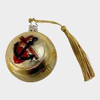 Christ Christmas Tree Ornament Inge Glas Old World Blown Glass Germany