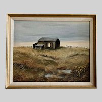 Joy TTT, Homestead on the Prairie Oil Painting