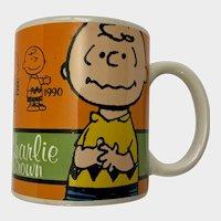 Charlie Brown Mug Peanuts 60th Anniversary Coffee Cup