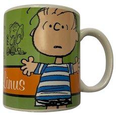 Linus Mug Peanuts 60th Anniversary Coffee Cup