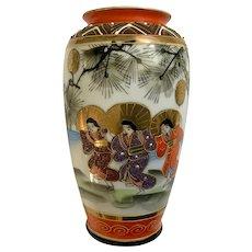 Nippon Tokusei (Japan Special Made) Hand Painted Geisha Girls Vase
