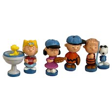 Peanuts Figurines Chess Piece Replacements Snoopy Charlie Brown Woodstock Lucy Sally Linus