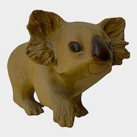 Adorable Koala Bear Rhet TK Pottery Figurine
