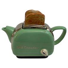 The Tea Toaster Teapot Swineside Teapottery Made In England