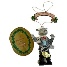 Jacob Marley Ornament A Christmas Carol in the Deep Woods Papel Freelance
