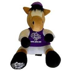 Breeders Cup Santa Anita Park Horse Race Racehorse Plush Stuffed Animal