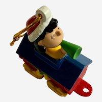 Peanuts Lucy Train Car Christmas Ornament