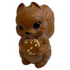 Mid-Century Twin Winton California Pottery Adorable Squirrel Cookie Jar
