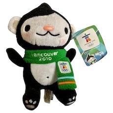Miga Whale Mascot Vancouver 2010 Winter Olympics Stuffed Plush Animal