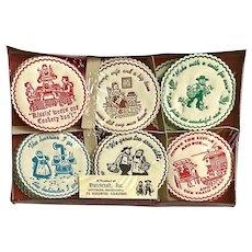 Vintage Dutchcraft Coasters New Set of 75