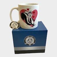 Pepe Le Pew Coffee Mug Looney Tunes Character Skunk