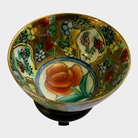 Chinese Rose Canton Porcelain Bowl Dollhouse Miniature