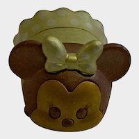 Disney Tsum Tsum Series 7 Gold Minnie Mouse Jakks
