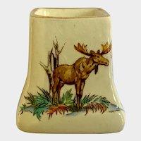 Royal Winton England Mustard Jar Pottery Old Canada No Lid