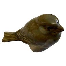 Royal Copenhagen Porcelain Sparrow Bird Figurine Denmark #1519