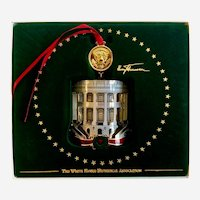 White House Christmas Tree Ornament Harry Truman Collectable 2018