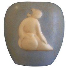 Jack Black Vase 1987 Native American Navajo Art Pottery