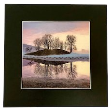 Zhang, Vintage China Susho Landscape Handmade Hand Stitched King Silk Art Picture