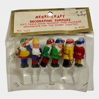 Mid-Century Gnomes Elf Band Cake Toppers Birthday Candle Holders Hong Kong