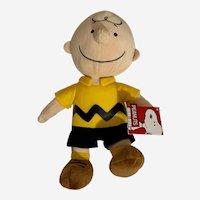 "Peanuts Charlie Brown Cartoon Character Plush Stuffed 13"" Snoopy's Friend"