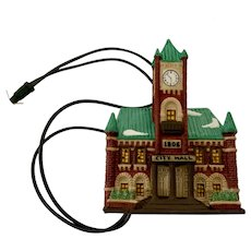 Department 56 Heritage Village Christmas in the City Series City Hall Ornament