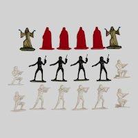 "Star Wars Command Army Men 2"" Figure Lot Lucas film Hasbro"