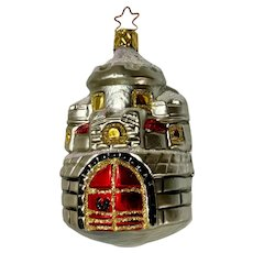 Inge Glas Old World Blown Glass Castle Christmas Germany Ornament