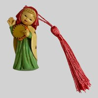 Anri Christmas Ornament Hand Painted Italy