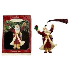 Merry Olde Santa Christmas Ornament 1998 Hallmark Keepsake