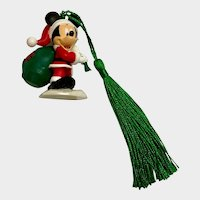 Disney Mickey Mouse Santa Christmas Ornament