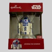 Star Wars R2D2 Christmas Ornament NIB