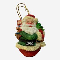 1910 Roly Poly Santa Claus Ornament Roman 1994