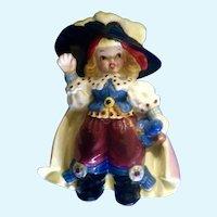 Mid-Century Girl Pirate Figurine Bobby Shaftoe Nursery Rhyme Napco Planter