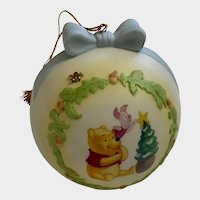 Disney Pooh Piglet Christmas Ornament One Little Star Makes a Difference Figurine