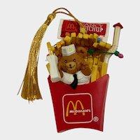 Vintage McDonalds Christmas Ornament Night Before Christmas