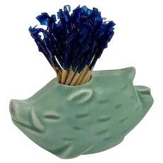 Adorable Ceramic Flying Pig Boar Toothpick Holder
