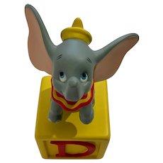 Dumbo the Elephant D Disney Baby Block