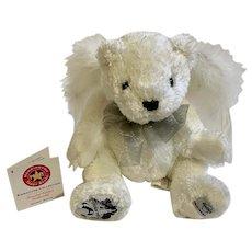 Hard Rock Cafe Angel Teddy Bear Stuffed Plush Animal Limited Edition 2007