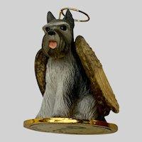 Tiny Ones Schnauzer Angel Dog Figurine Conversation Concepts Company