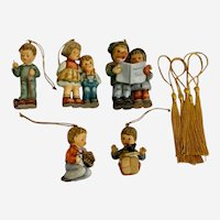 Goebel Hummel Christmas Ornaments Set of 5 1997