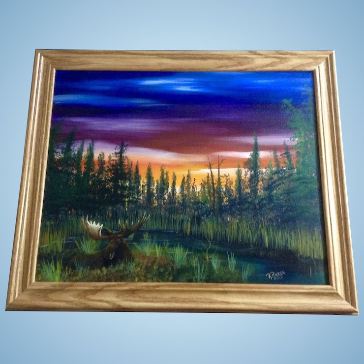 Framing Oil Paintings On Canvas Board - Painting Ideas