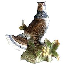 Partridge Bird Figurine Mid-Century Norleans Japan Ceramic Animal