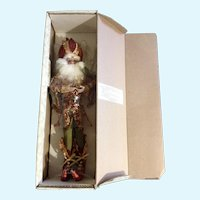Christmas Mark Roberts Santa Claus Pomegranate Fairy Limited Edition Doll 19""