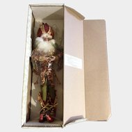 Retired Mark Roberts Santa Pomegranate Fairy, Med 51-82458 Limited Edition 712/1500 Christmas Doll 19""